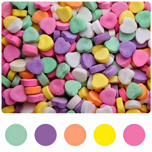 candy pastel trend
