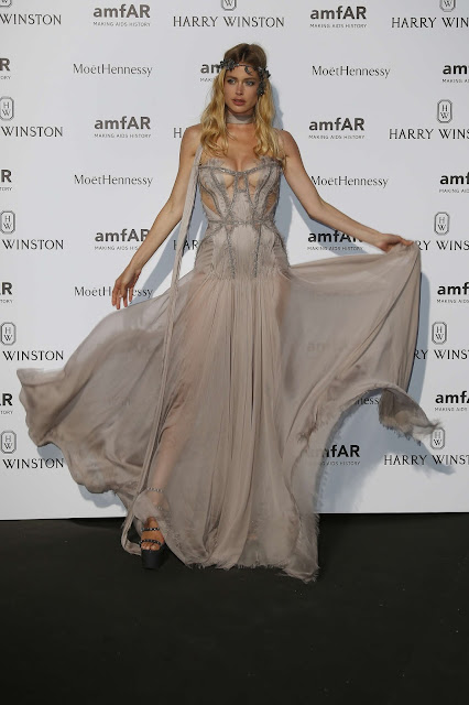 Doutzen Kroes amfAR Dinner in Paris