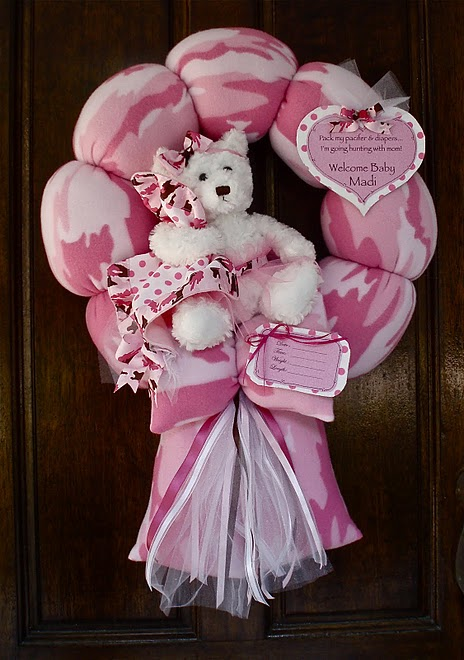 50. Pink Camo Baby Wreath