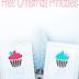 Free Christmas Cupcake Printables {Peace & Joy}