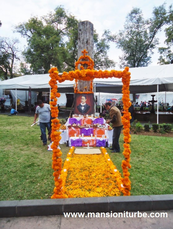 Ofrendas for Day of the Dead in Pátzcuaro, Michoacan, Mexico