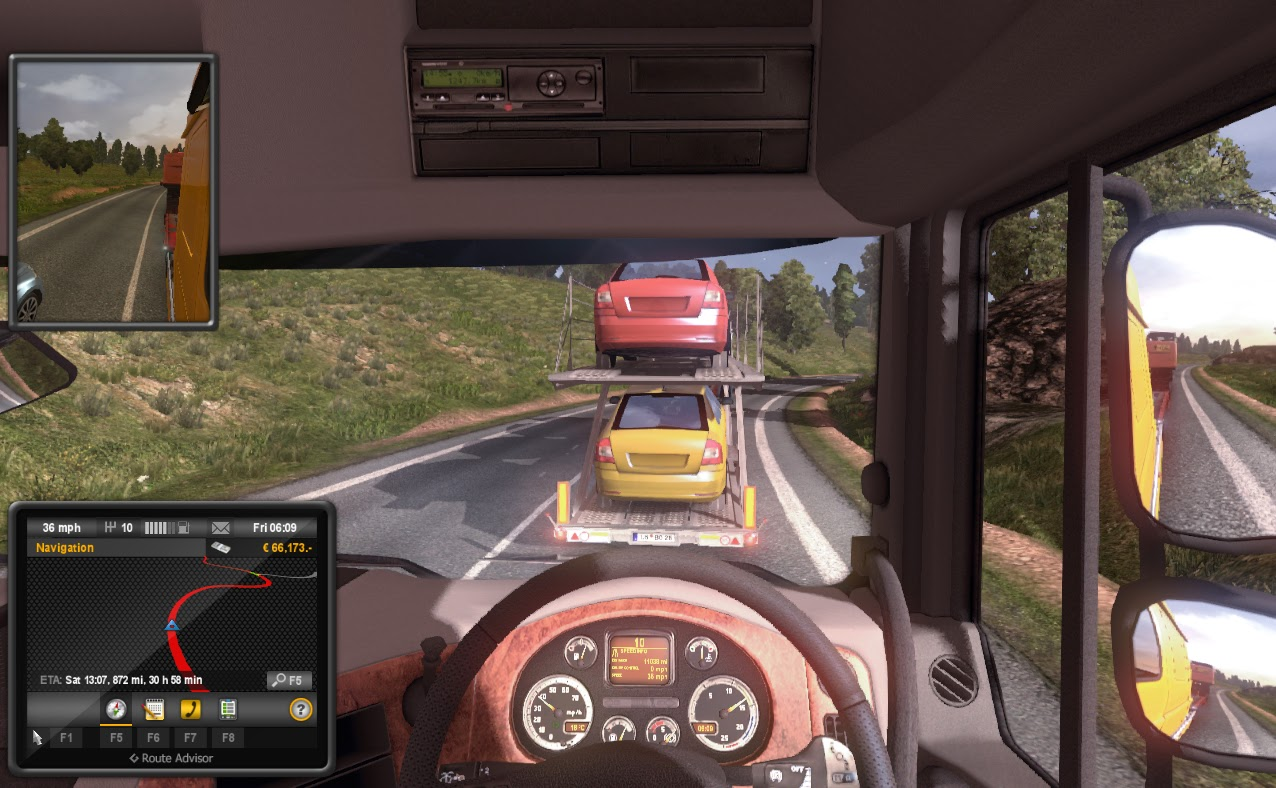 Download Euro Truck Simulator PC game