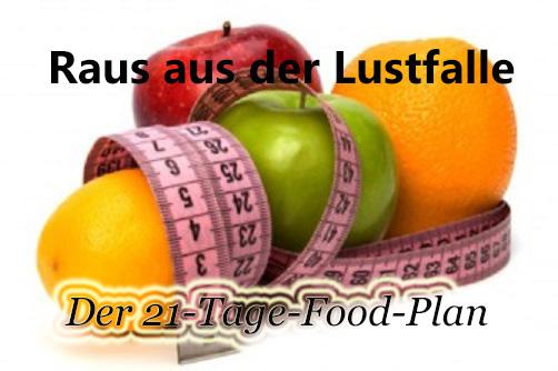 Der 21-Tage Raus-aus-der-Lustfalle FoodPlan