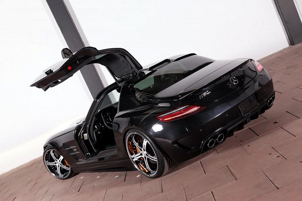 2011Mercedes Benz SLS AMG Modify by MEC Design