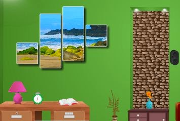 Games2World Green Drawing Room Escape