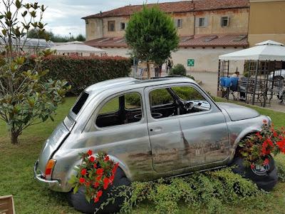 Fiat 500 cromata - Carrozzeria Nixsa