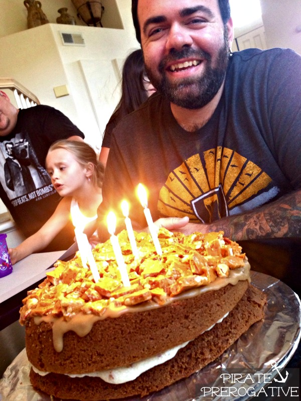Pirate Prerogative Bacon Maple Beer Cake The Manliest Cake Ever