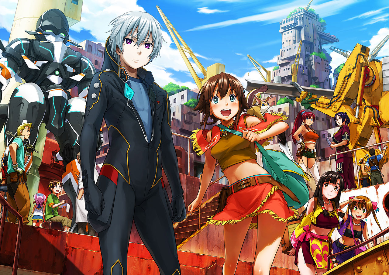 Blog de nakiami542 : perfect world, suisei no Gargantia