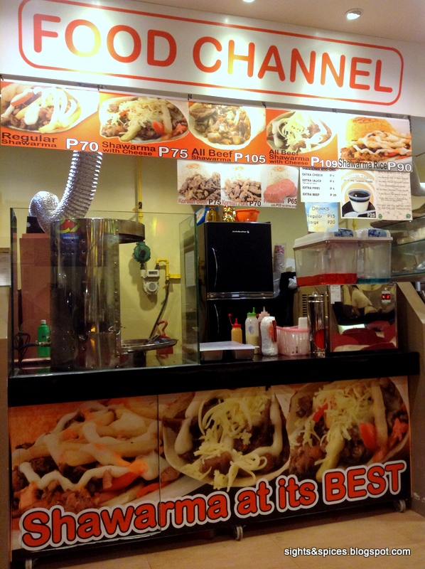 Sights and spices spices food channel food channel at lasapin food court forumfinder Images