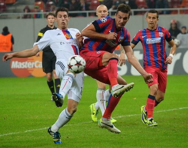 Basel vs Steaua Bucuresti