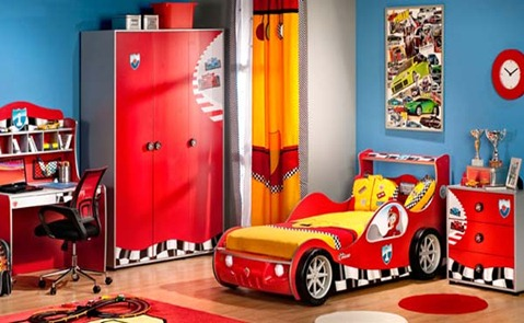 Cars dormitorio tematico de rayo mcqueen dormitorios - Imagenes de habitaciones infantiles ...