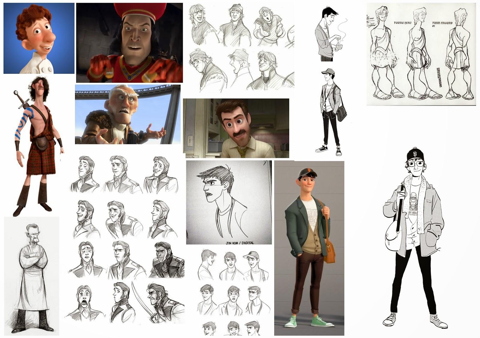 Pixar Character Design Book : Achievement unlocked g started game art design