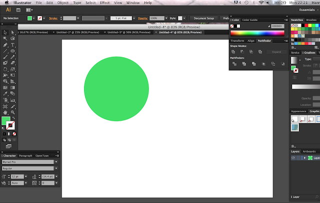 how to use the circle tool in photoshop