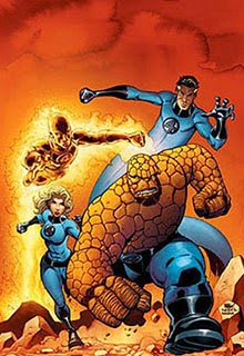 Fantastic Four Comic Strip