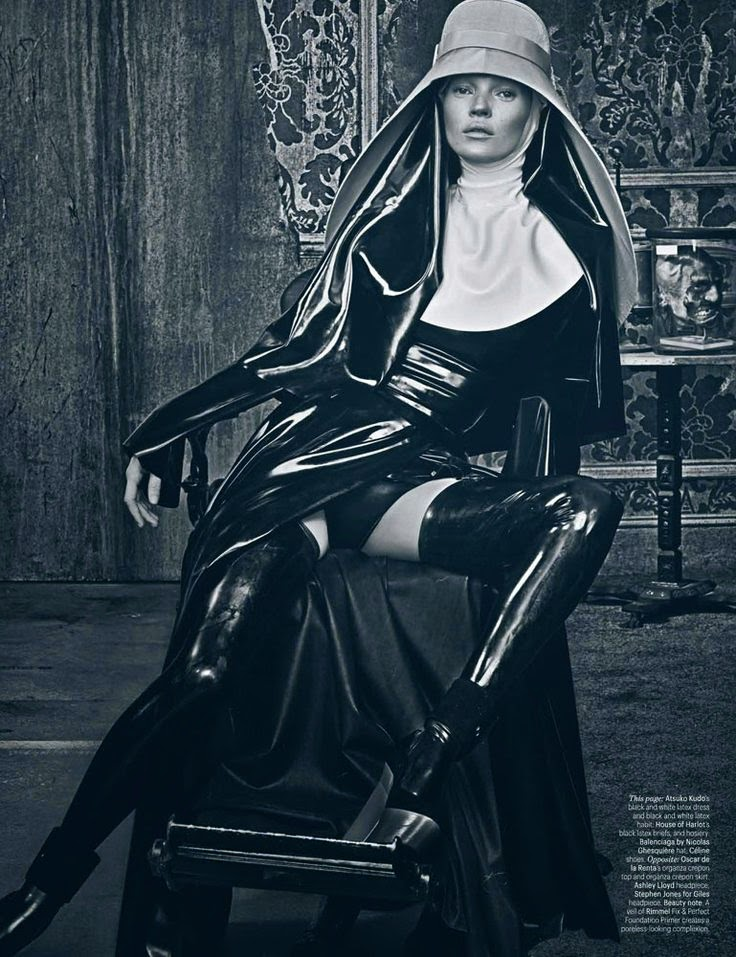 Fetish Inspirations : Kate Moss by Steven Klein for W Magazine March 2012