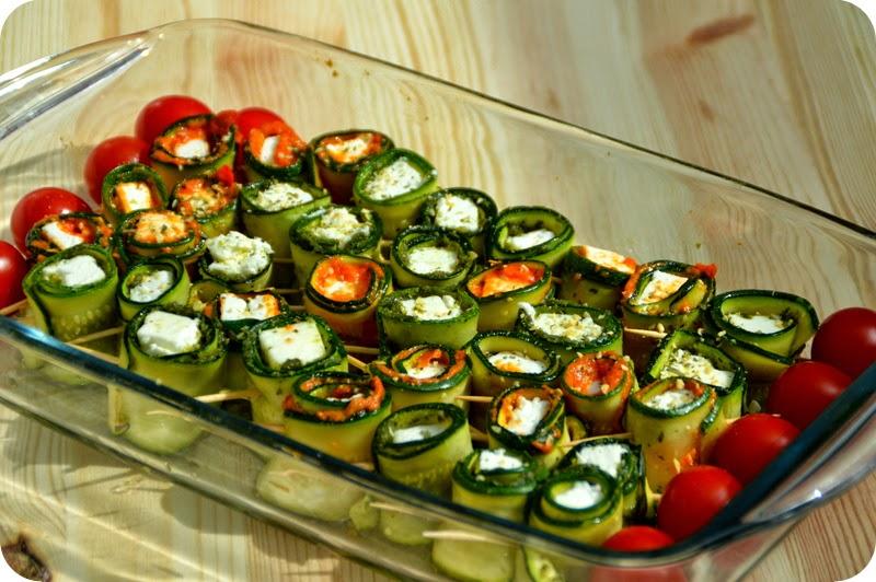 f r die erste grillparty zucchini sushi lieblingsk che. Black Bedroom Furniture Sets. Home Design Ideas