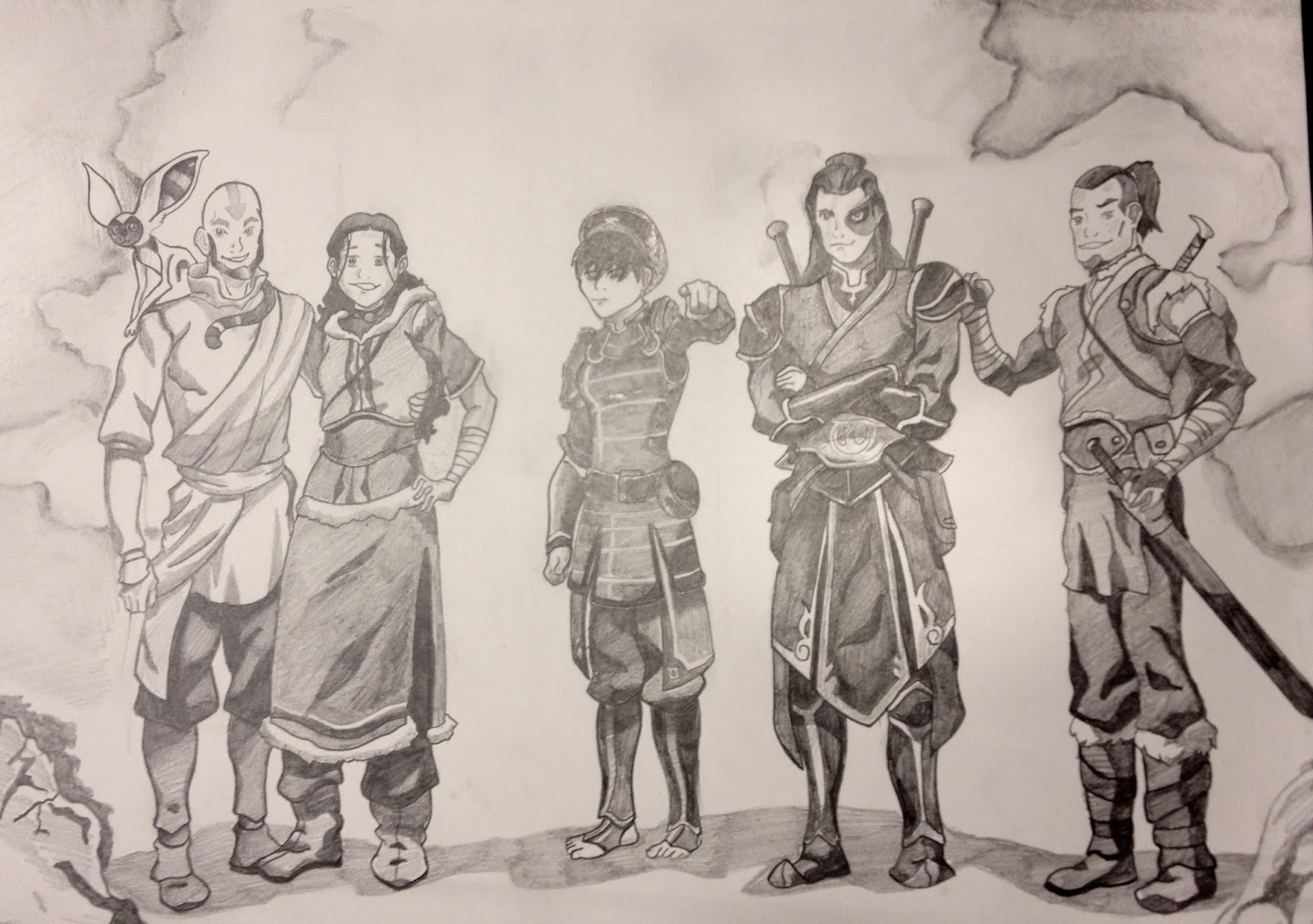 Avatar the last airbender old friends