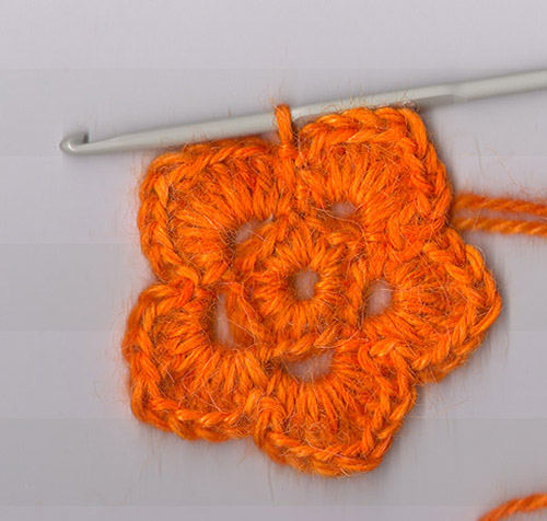 crochet flower pattern-Knitting Gallery