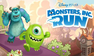 Screenshots of the Monsters Inc Run for Android tablet, phone.