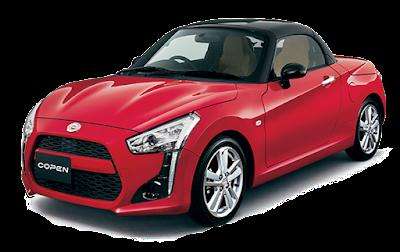 Daihatsu Copen - Matador Red