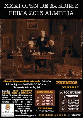 OPEN DE FERIA DE ALMERIA. 22 DE AGOSTO