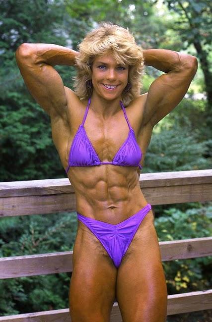 80's Female Muscle: Liz Karp