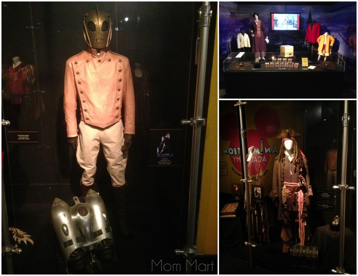 Disney Exhibit at MOSI Treasures of the Walt Disney Archives #Rocketeer #Pirates #MaryPoppins