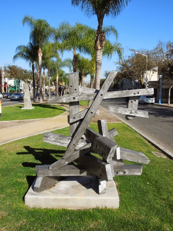 Abandoned Relics wood sculpture Gustavo Godoy