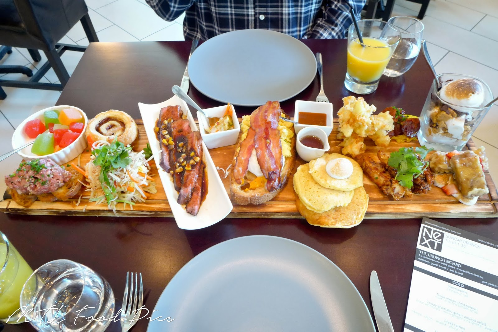 NEXT Restaurant - Brunch board Ottawa Stittsville
