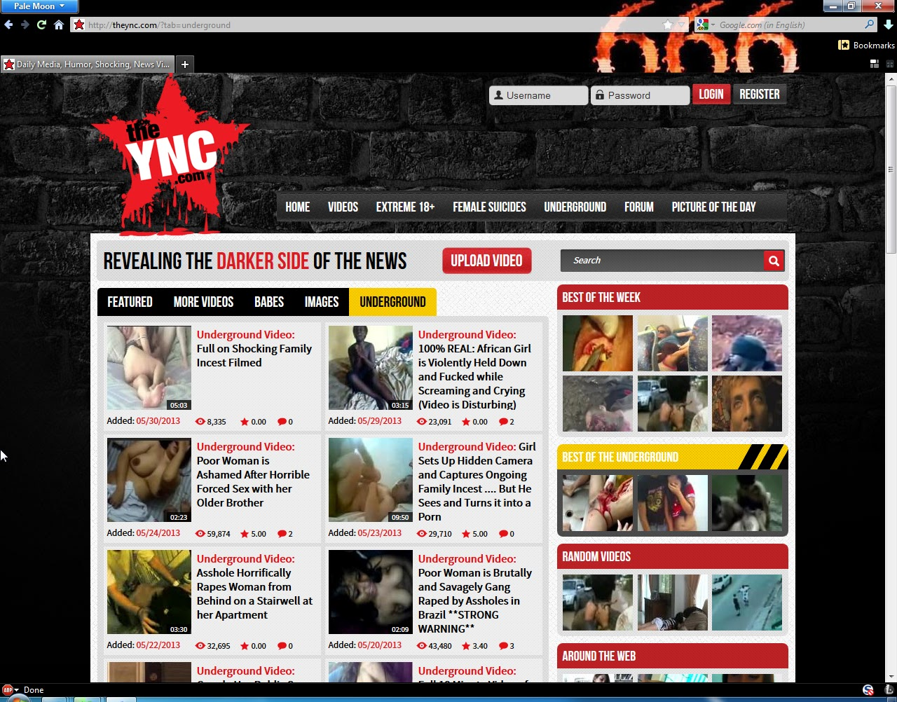 the ync underground free