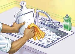 Los alimentos que consumimos higiene en los alimentos Metodos de limpieza y desinfeccion en el area de cocina