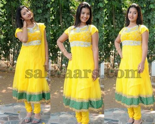 Pragnya Yellow Salwar Kameez