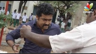 Singam 2: Making Of Fight Scene | Haniska, Santhanam | Shooting Spot | Hot Show