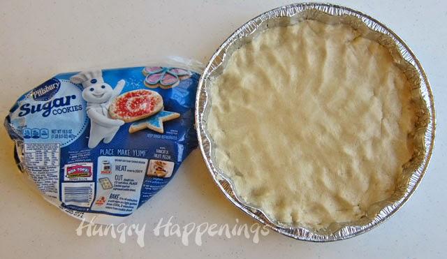 Bake a Pillsbury Sugar Cookie in 8 inch pan