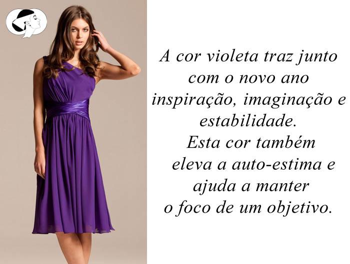 CORES PARA O ANO NOVO_Vestido violeta_vestido roxo_usar violeta no ano novo_usar roxo para o ano novo
