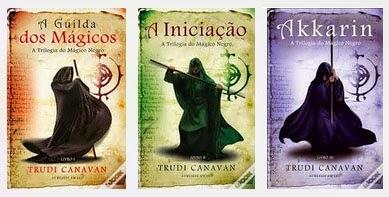 "Trilogia ""O Mágico Negro"" de Trudi Canavan"
