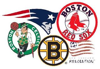 boston sports logos
