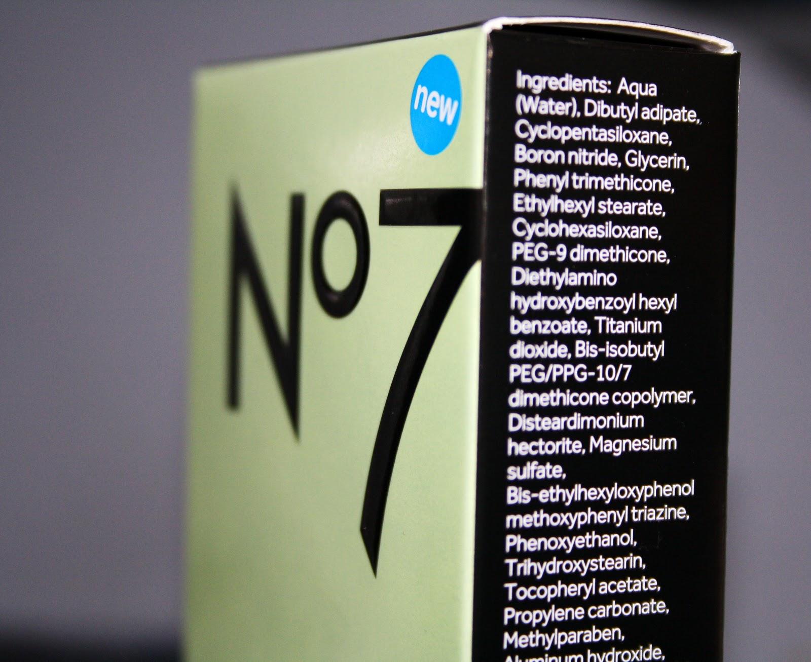 No 7 cream / Instant wrinkle cream