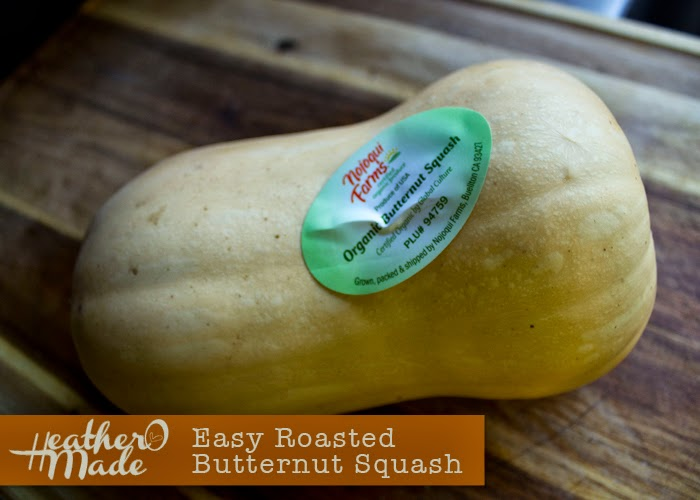 Easy Roasted Butternut Squash Recipe