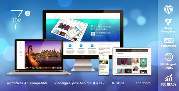 The7 Responsive Multipurpose WordPress Theme 2015