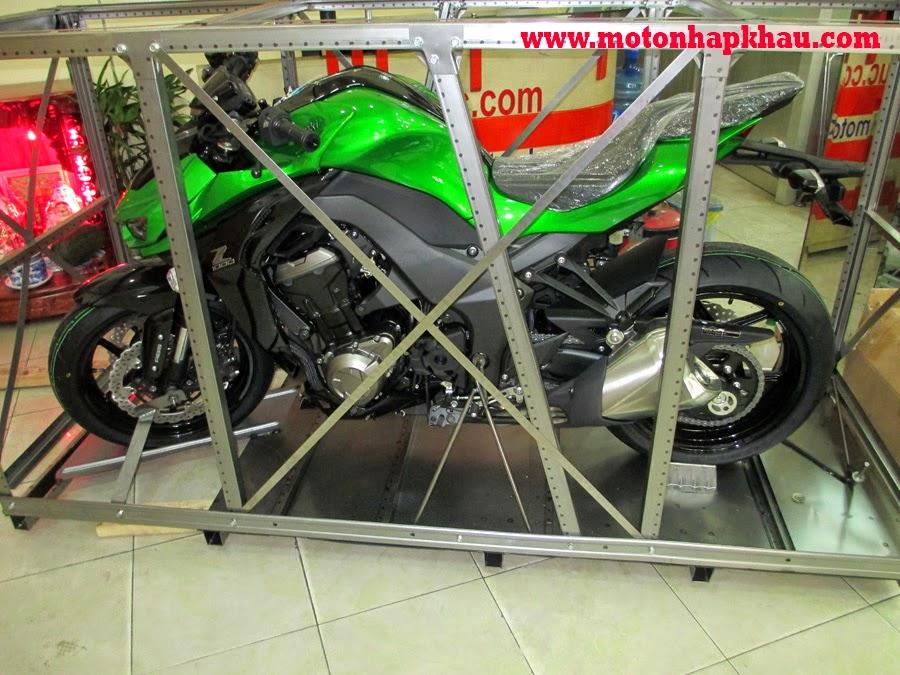 Kawasaki Z1000 ABS 2015 Phiên Bản Châu Âu Màu Xanh
