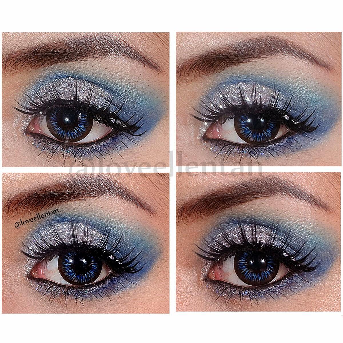 Sparkling Glitter Party Makeup Tutorial | ....u2665 Loveellentan