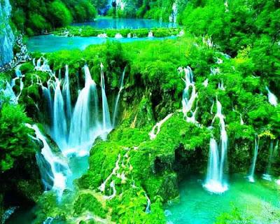 Gambar Pemandangan Alam Air Terjun Tercantik Di Dunia 2000