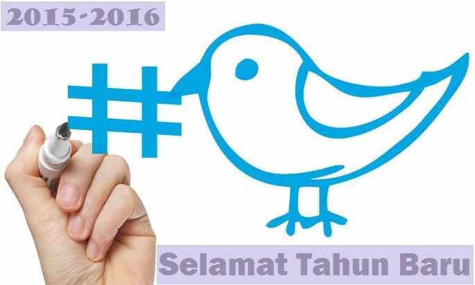 Daftar Tagar Sambut Tahun Baru 2016 Twitter Berbagai Negara