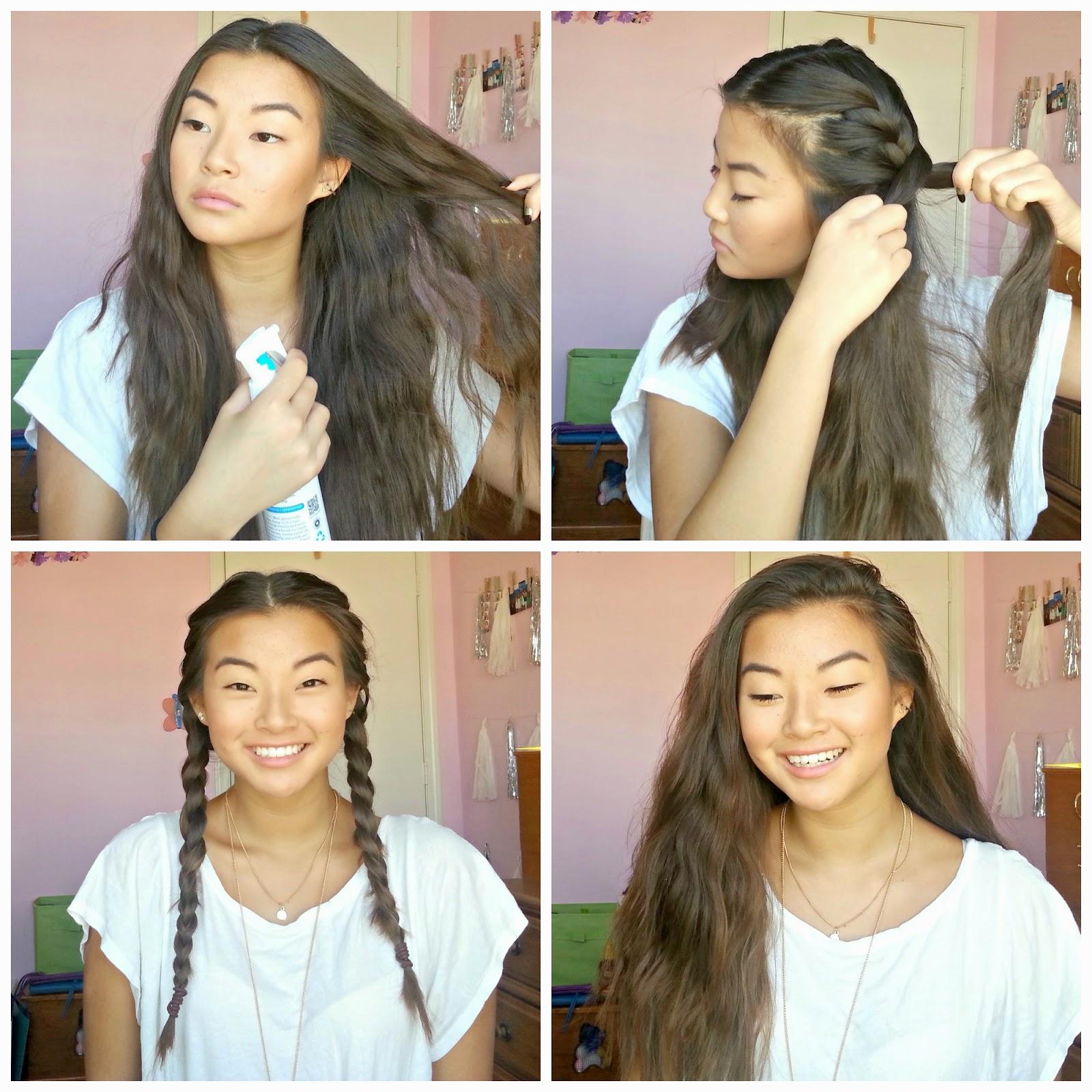 Back to school quick easy hairstyles truly leesh effortless waves urmus Gallery