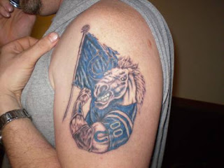 Colts Tattoo Ideas - Colts Tattoo Design Photo Gallery