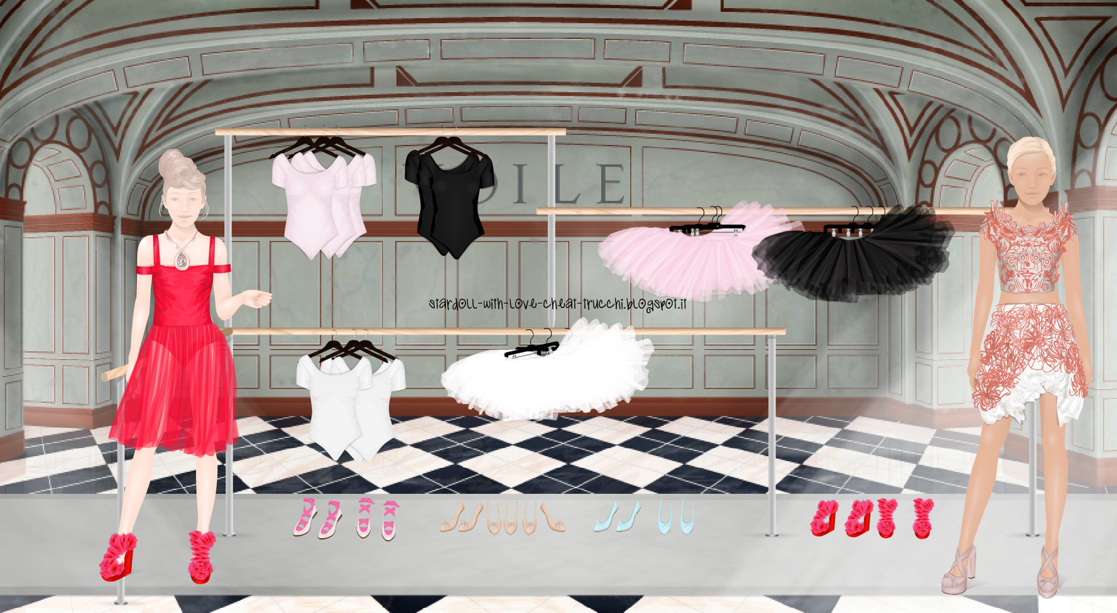 Stardoll with love trucchi cheat gratis other voile e i for Nuovi piani coloniali in inghilterra