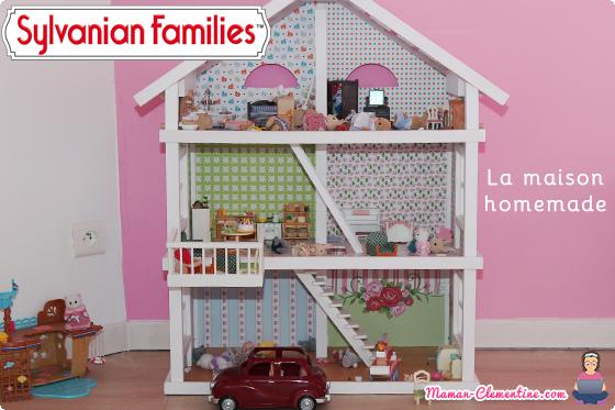 Sylvanian Families La maison Sylvanian homemade