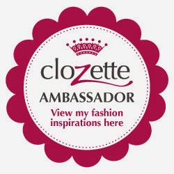 I am a Clozette Ambassador