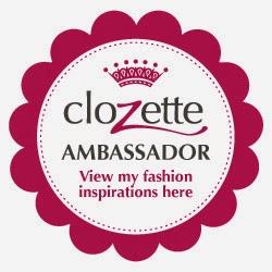 I am a Clozette Ambassador